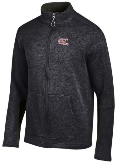 Cross Country Full Zip: Black
