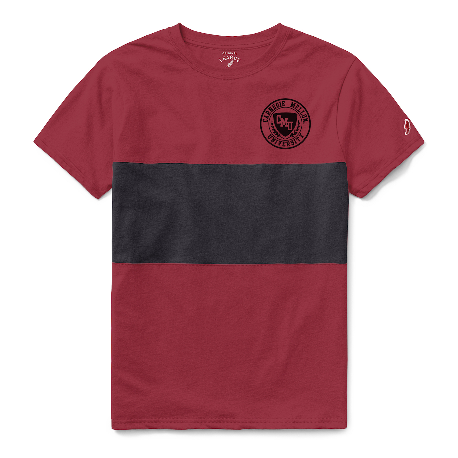 All American Panel Tee: Red