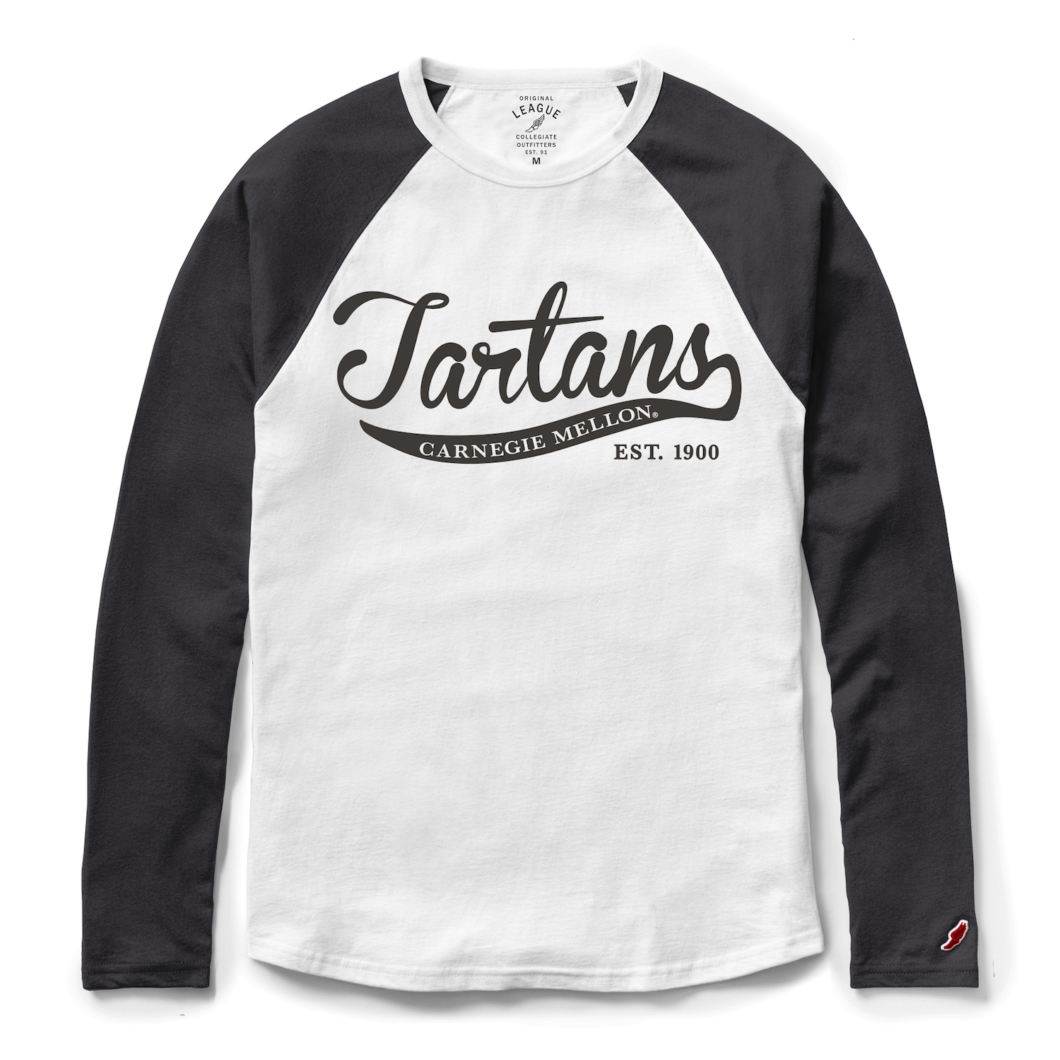 All American Baseball Tee: Black