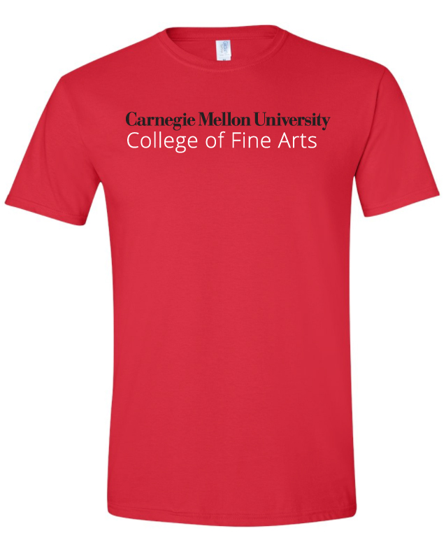 College of Fine Arts Tee: Red