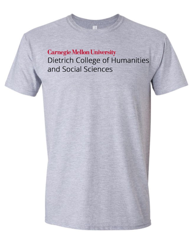 Dietrich College Tee: Oxford