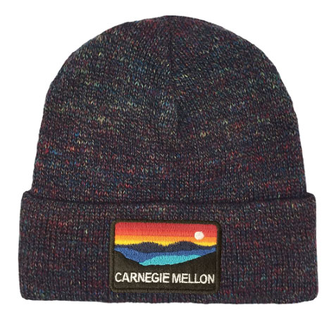 Beanie: Rainbow Yarn Knit
