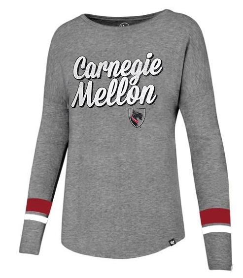 Courtside Long Sleeve Tee: Oxford