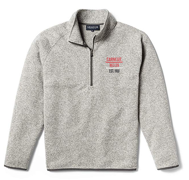 Saranac 1/4 Zip: Oxford