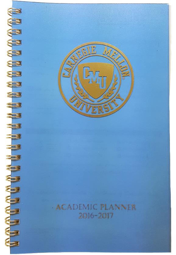 Academic Planner 2017-2018: Blue