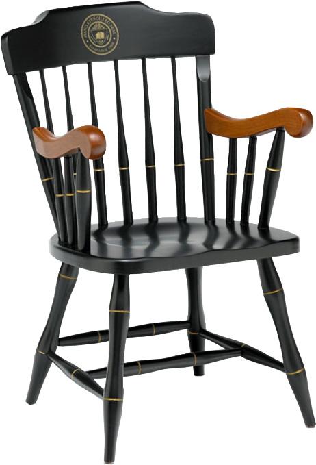 Captains Chair W Silk Screen Seal Carnegie Mellon