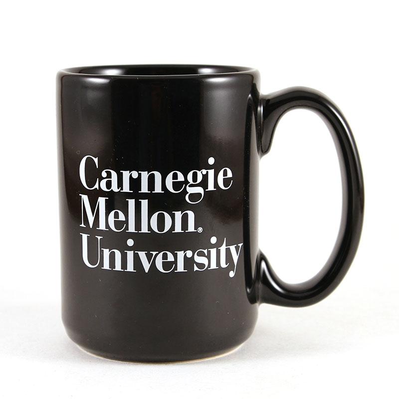 Mug: 3-Line Wordmark Black