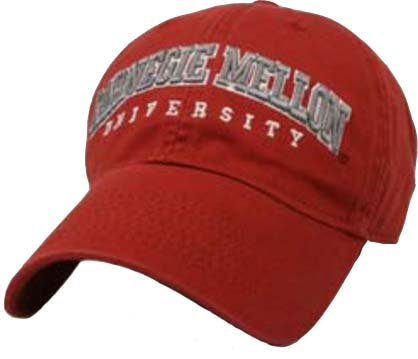 Image For Hat: Arch Logo Cardinal