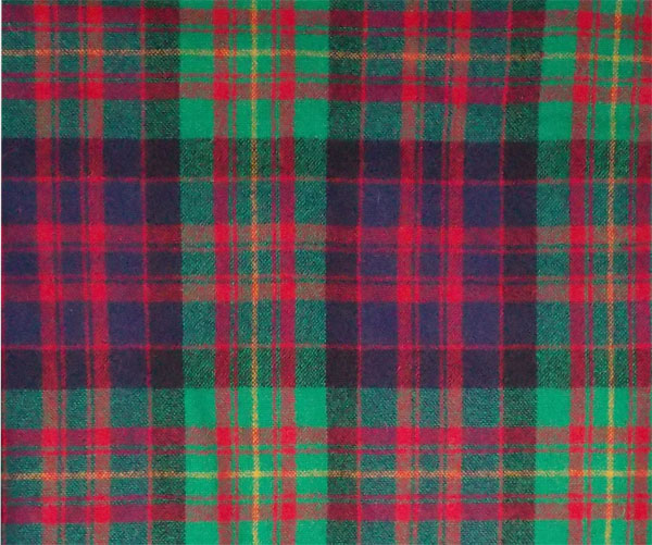 Image For Fabric: 1 Yard Tartan Wool