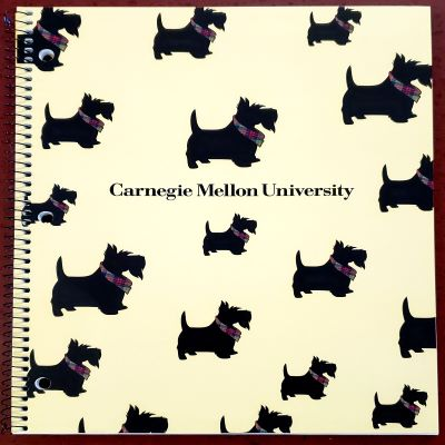 Image For <notebook>Carnegie Mellon Notebook: Scotty Pattern or Tartan