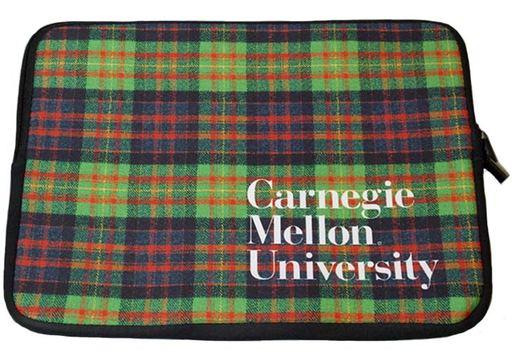 Image For Laptop Sleeve: Plaid 17""