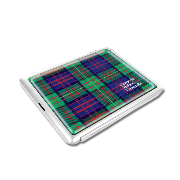 Image For Decal: Plaid Laptop/Tablet Large