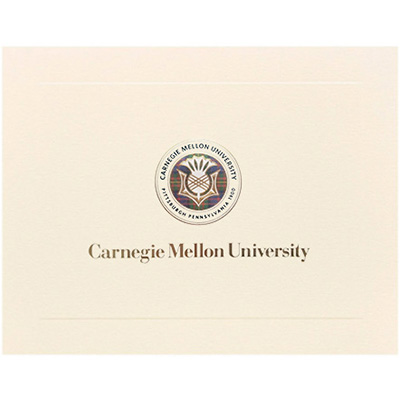 Image For <notecard>Note Cards: University Seal and Gold Wordmark