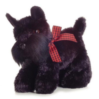 Image For Mini Scotty Dog Plush