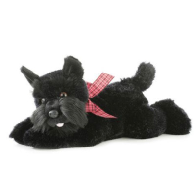 Image For Scotty Dog Plush