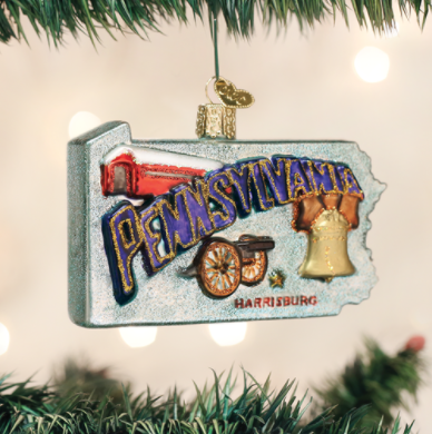 Image For Ornament: Pennsylvania