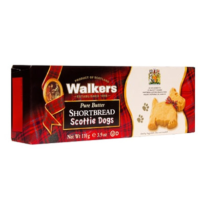 Image For Walker's Shortbread Scottie Cookies: Box of 9
