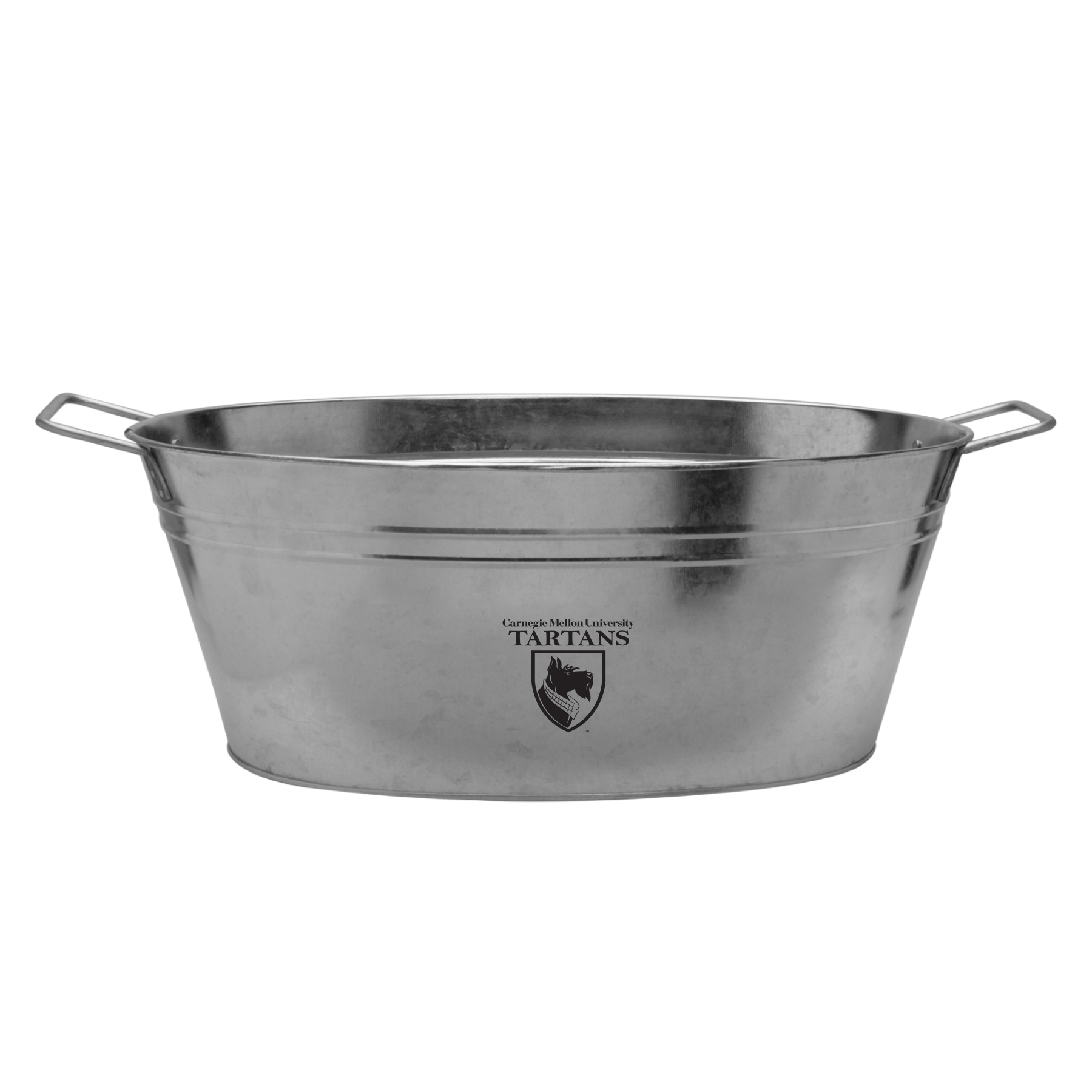Image For Oval Drink Tub: Silver