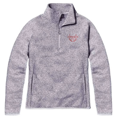 Image For <qz>Saranac 1/4 Zip Sweatshirt: Oxford