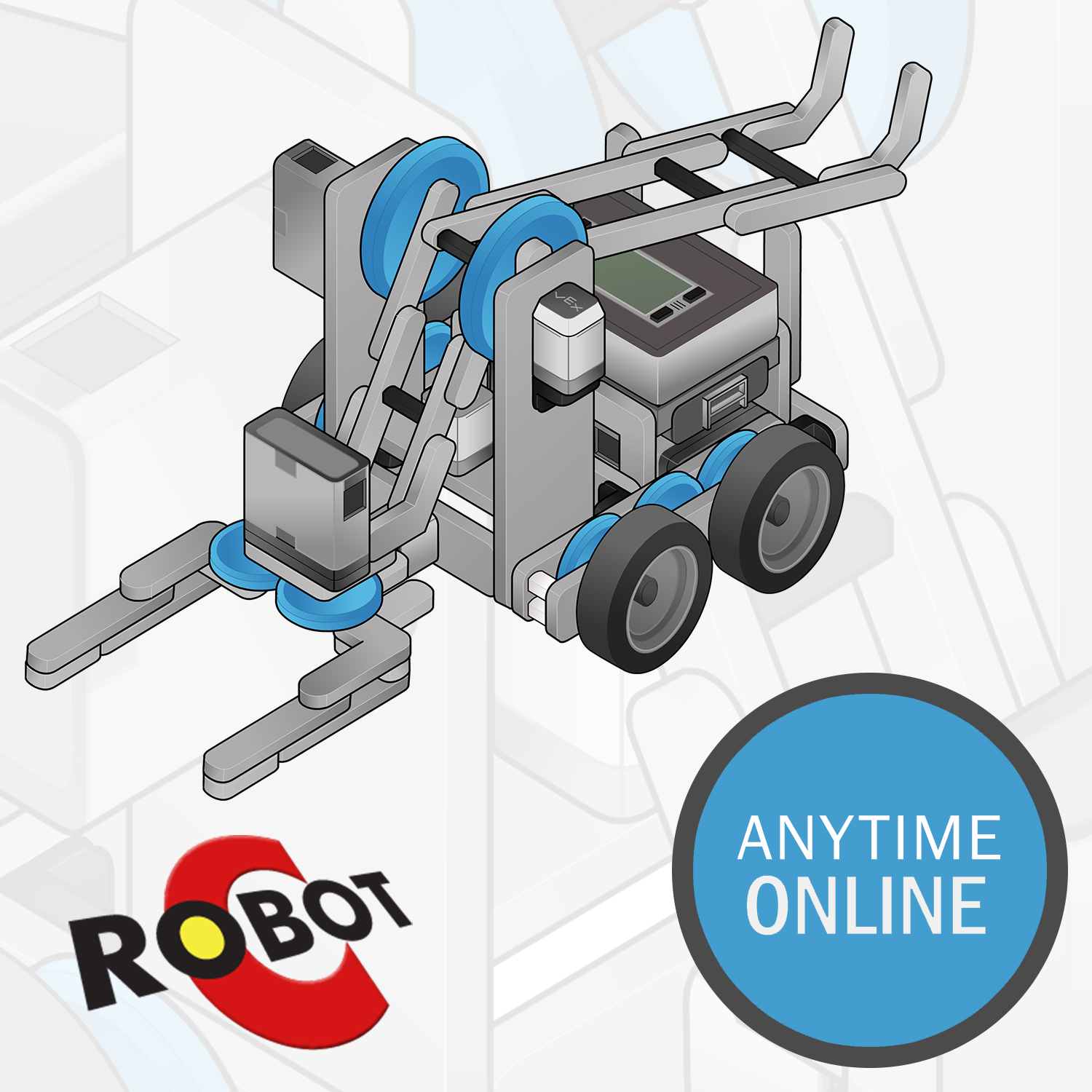 Image For ROBOTC for VEX IQ Online: Anytime (pre-recorded)