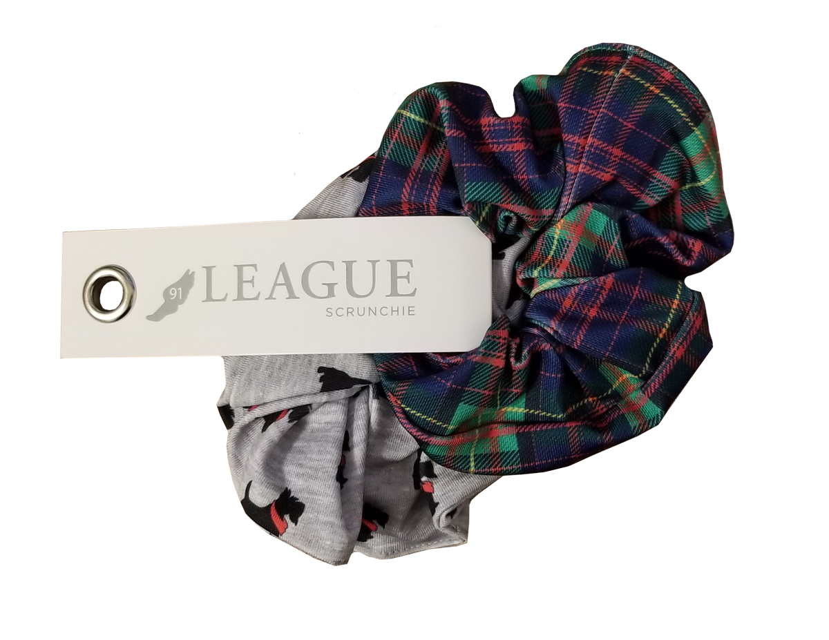 Image For Scrunchie 2 Pack: Scotty and Tartan