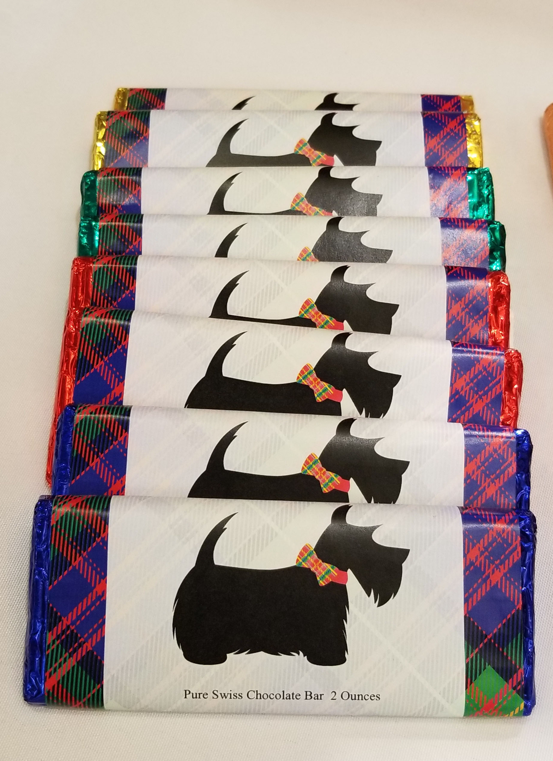 Image For <chocolate>Scottie Dog Chocolate Bar