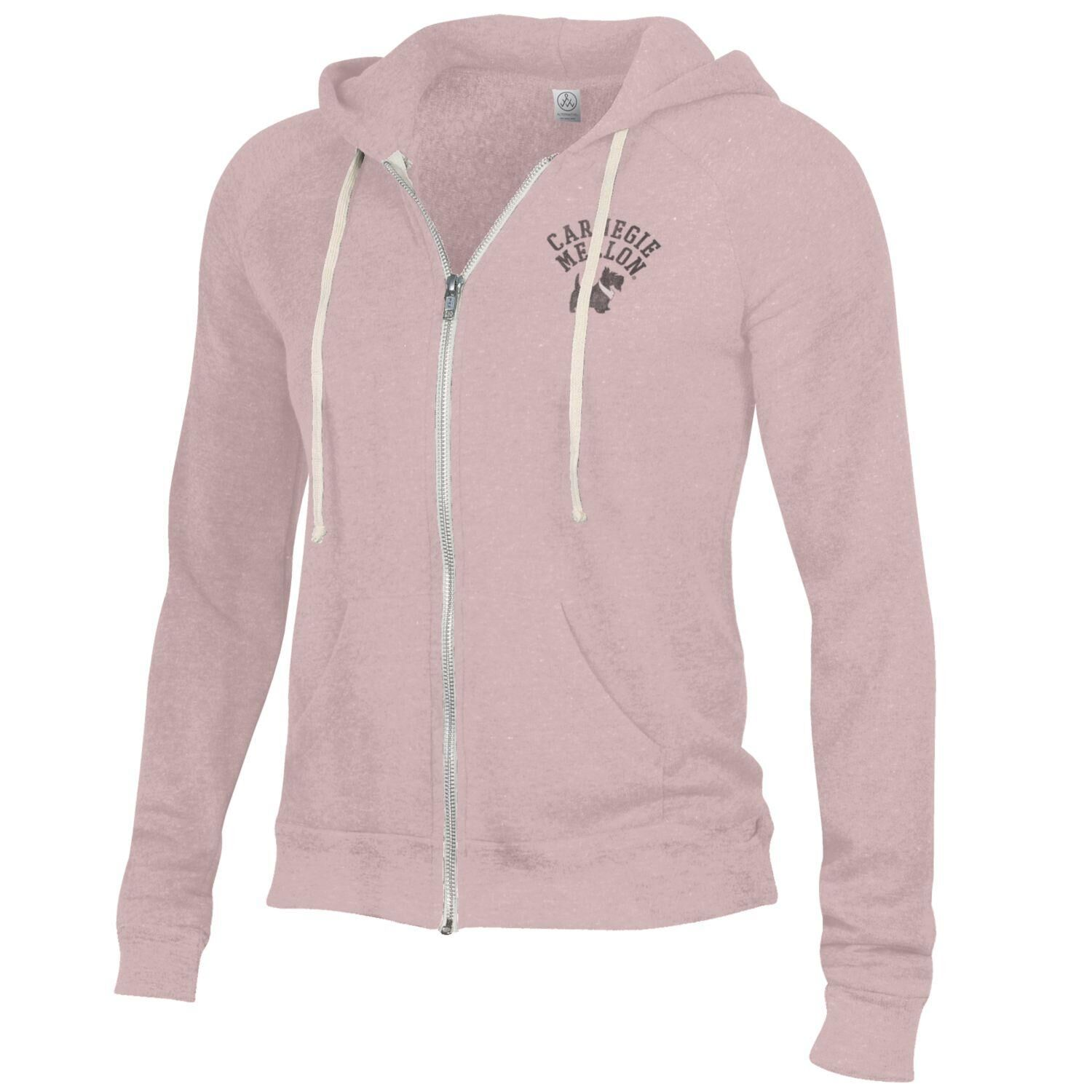 Image For <fz>Adrian Full Zip Hoodie: Pink