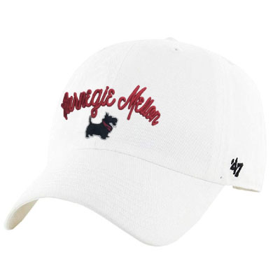 Image For <hat>Adjustable Clean Up Hat: White