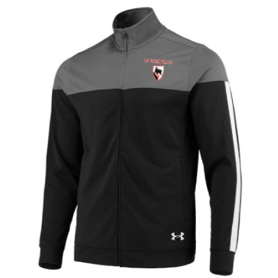 Image For <jacket>Under Armour Track Jacket: Black
