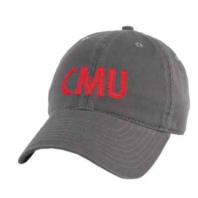 Image For <hat>Relaxed Twill CMU Hat: Charcoal