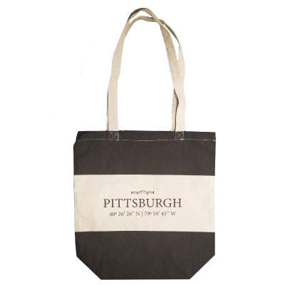 Image For <tote>Pittsburgh Canvas Tote