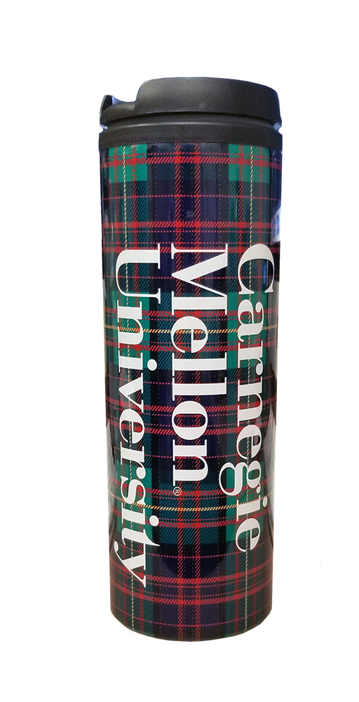 Cover Image For <tumbler>Insulated Travel Tumbler: Plaid