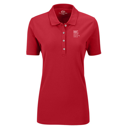 Image For <polo>SEI Women's Fit Polo: Red