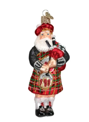 Image For <ornament>Ornament: Highlander Santa