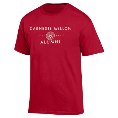 Image For <ss>Champion Alumni Tee: Cardinal