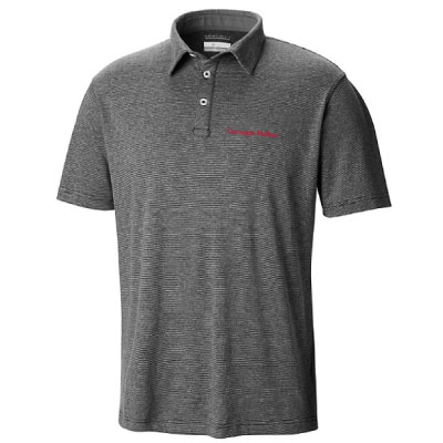 Image For <polo>Columbia Omni-Wick Golf Polo: Black