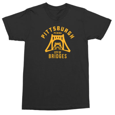 Image For <ss>City of Bridges Tee: Black