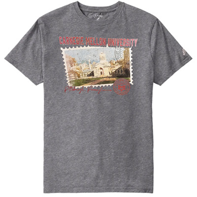 Image For <ss>All American Postcard Tee: Oxford
