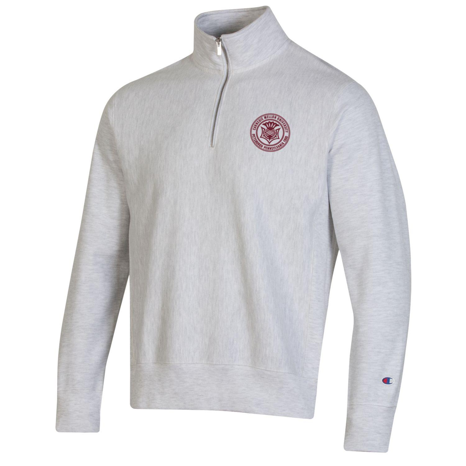 Image For <qz>Champion Reverseweave Seal 1/4 Zip: Oxford