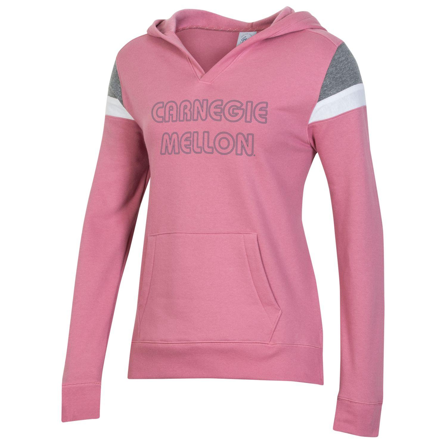 Cover Image For <hood>Women's Colorblock Hoodie: Pink