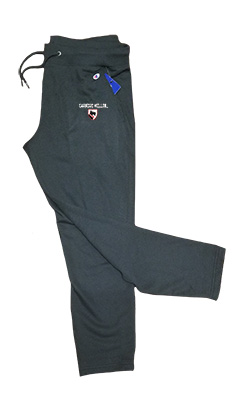 Image For <pants>Champion Scotty Shield Sweatpants: Black