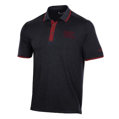 Image For <polo>Under Armour Gameday Polo: Black