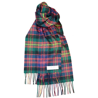 Image For <scarf>Lochcarron Lambswool Scarf: Tartan