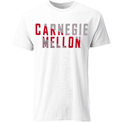 Image For <ss>Carnegie Mellon Tee: White
