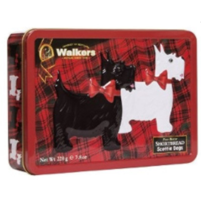 Image For Shortbread Cookies: Scottie Tin