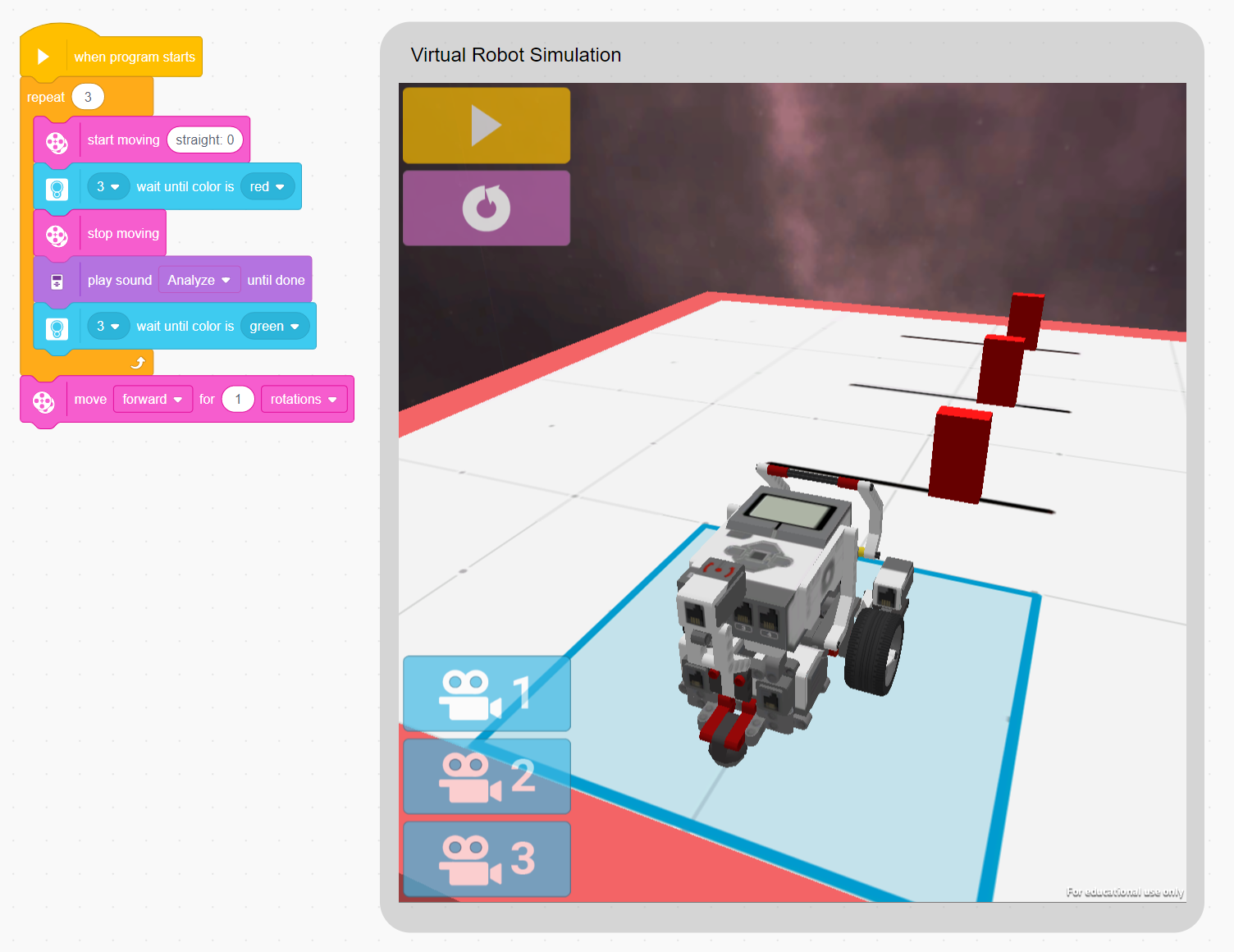 Image For Virtual Robot Curriculum Access - Single License