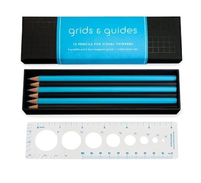 Image For GRIDS & GUIDES: 12 Pencils