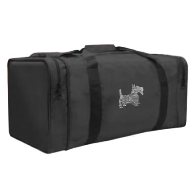 Image For Gear Pak Duffel Bag: Black